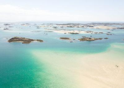 Grandes marées à Chausey